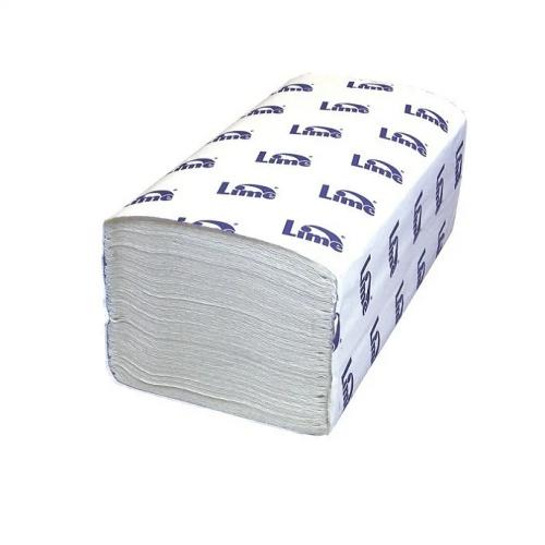Бумажные полотенца V LIME, 1-сл., белые, 250 листов