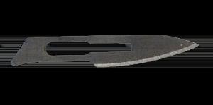 Лезвие для скальпеля из углеродистой стали одноразовое стерильное G18
