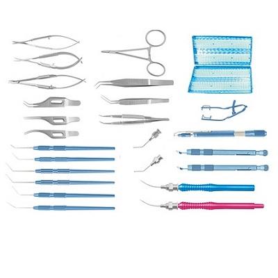 Набор инструментов Глаукомный универсальный микрохирургический
