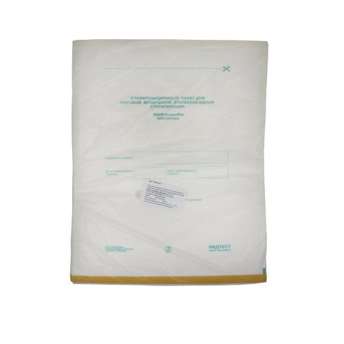 Пакет (крафт)  для паровой, воздушной стерилизации бум 300*390 (100 шт)ПБСП-Стеримаг