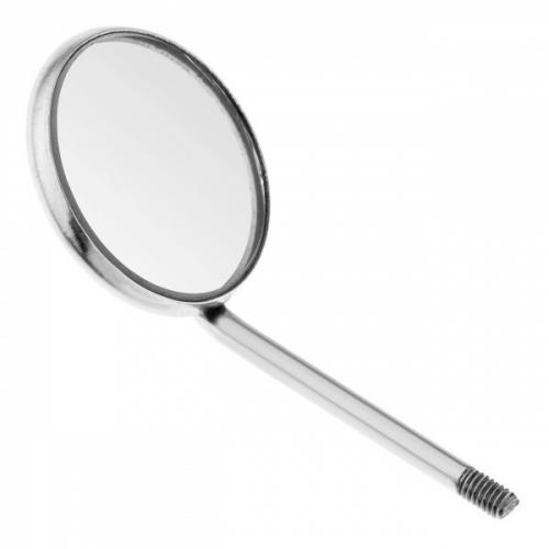 3243-22М Зеркало: Mouth Mirror стоматологическое с увеличением, 22 мм, без ручки