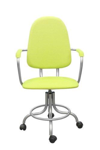Кресло на винтовой опоре с подлокотниками КР14