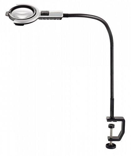 Лампа лупа Eschenbach varioLED flex, Ø 76 мм, 6.0 дптр, h 600 мм