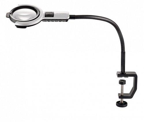 Лампа лупа Eschenbach varioLED flex, Ø 76 мм, 6.0 дптр, h 350 мм