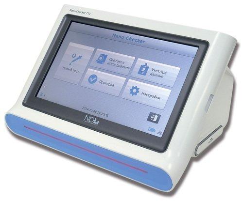 Экспресс-анализатор критических состояний иммунохроматографический портативный Nano-Checker 710 (кардиомаркер) с принадлежностями