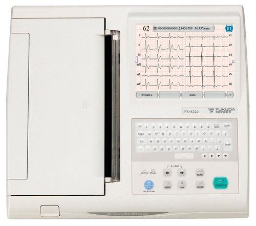 Fukuda CARDIMAX FX-8322 электрокардиограф 12-канальный