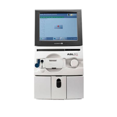 Анализатор кислотно-щелочного и газового состава крови ABL80 Basic (pH, pCO2, pO2, CL, K, Na, Hct) + стартовый набор расходных материалов