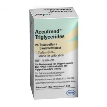 """Тест-полоски """"Аккутренд Триглицериды"""" (Accutrend Triglycerides)"""