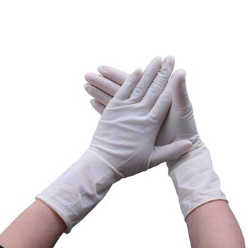 Латексные хирургические перчатки с внутр. полим. покрытием №50, р.6,5