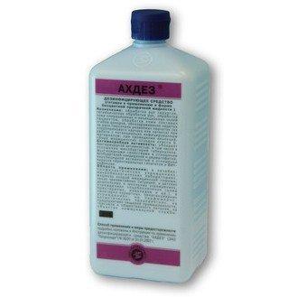 АХДЕЗ антисептик для гиг. и хир. обработки кожи, операц. поля, р-р, 1 л