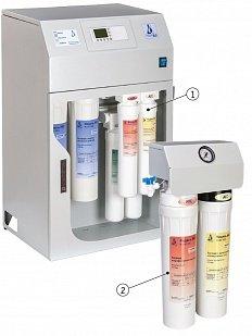 """Установка для получения очищенной воды и воды для инъекций УВОИ-""""М-Ф"""" (АКВАЛАБ-2 система водоподготовки)"""