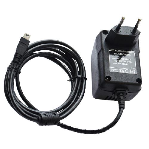 Сетевой адаптер к анализаторам АЛКОТЕКТОР PRO-100 touch mini USB