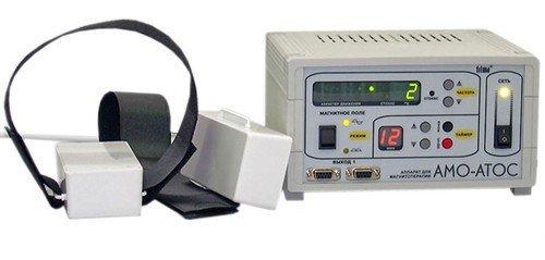 Аппарат магнитотерапевтический АМО-АТОС с приставкой АМБЛИО-1