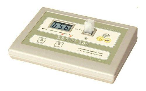 Анализатор общего белка в моче фотометрический «Белур 600»