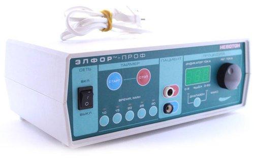 Аппарат для гальванизации и лекарствоенного электрофореза автоматизированный «ЭЛФОР-ПРОФ»