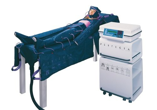 Аппарат для проведения прессотерапии и лимфодренажа, производство компании SaunaItalia