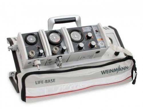 Аппарат ИВЛ Standard-a с перенос. платфомрой и модулем подачи кислорода