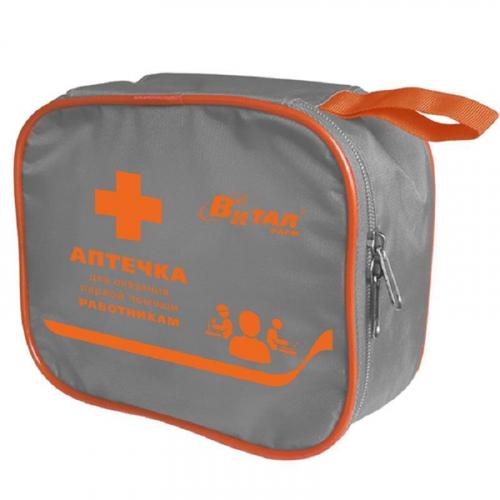4580/2 тип 13 Аптечка первой помощи работникам (в сумке одноярусной) ВИТАЛФАРМ  по приказу №169н от 05 марта 2011г.