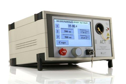АСТ DUAL MINI (980+1470 нм, 17+10,5 Вт), диодный лазерный аппарат