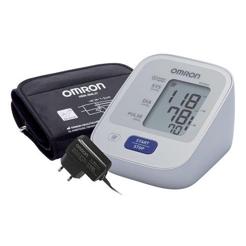 Тонометр автомат. М2 Basic, изм. част. пульса, адаптер, ун. манжета
