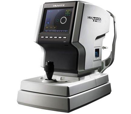 Авторефкератометр HRK-7000 А с принадлежностями; (Автонаведение), Huvitz