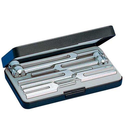 Инструмент медицинский для диагностики нервной и/или слуховой проводимости в исполнении: Набор из пяти инструментов из алюминия - set III