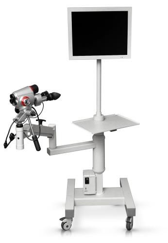 Бинокулярный кольпоскоп ALScope+ видео