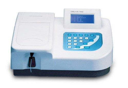 Анализатор биохимический полуавтоматический  DR-7000D с принадлежностями
