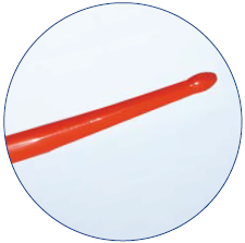 AG5316 Буж уретральный, прямой гибкий, оливообразный наконечник, длина 34см., материал Neoplex 16 Fr