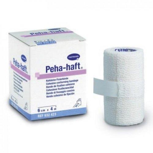 Cамофиксирующийся эластичный бинт Peha-haft размер 4 см.х4 м. пр-ва Hartmann