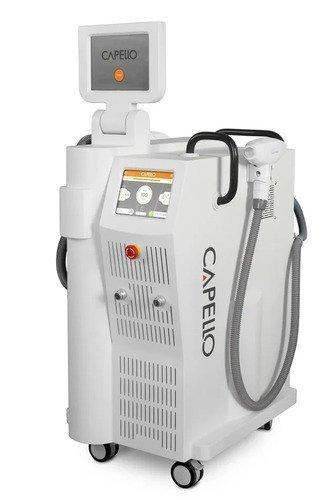 Диодный и неодимовый лазер для эпиляции и омоложения CAPELLO Duos