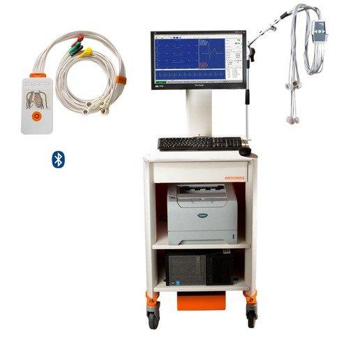 Стресс-тест система Cardioline cubestress HD package + велоэргометр xr100