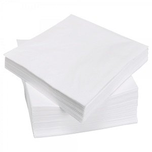 Салфетка 20*20 см, SL-S20, спанлейс, 100 шт, белая