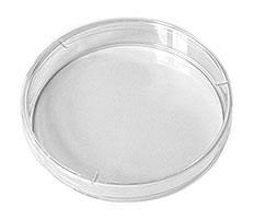 Чашка Петри пластмассовая однократного применения диаметром 90 мм невентилируемая, односекционная в групповой упаковке, пс, уп.20 шт, Литопласт