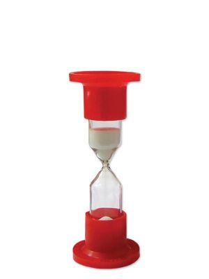 Часы песочные лабораторные стекло/пластик на 1 минуту