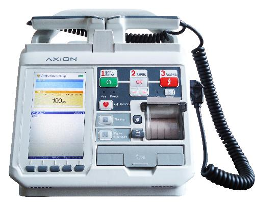 Дефибриллятор-монитор ДКИ-Н-11 Аксион с ЭКГ и функцией автоматической дефибрилляции