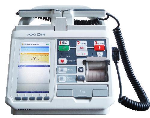Дефибриллятор-монитор ДКИ-Н-11, ЭКГ, НИАД, SpO2, ЭКС, слот для карты