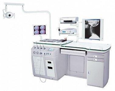 Рабочее место оториноларинголога Dixion ST- E600 в комплекте с жесткими эндоскопами