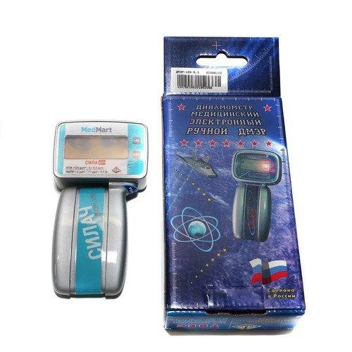 Динамометр электронный ручной медицинский в следующих исполнениях:  ДМЭР-120  по ТУ 9441-035-00226454-2007