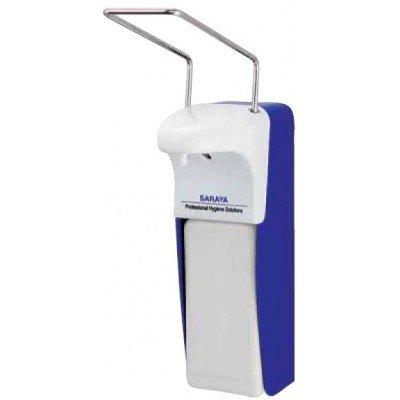 Локтевой дозатор для антисептиков и мыла MDS -1000 P(W) Белый пластик