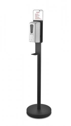 Диспенсер BSDS-32503 сенсорный, на стойке, черный