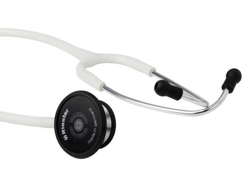 стетоскоп Duplex 2.0 нержавеющая сталь, белый, Riester