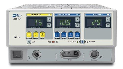Аппарат электрохирургический высокочастотный ЭХВЧ-350-«ФОТЕК». Набор для общей хирургии минимальный.
