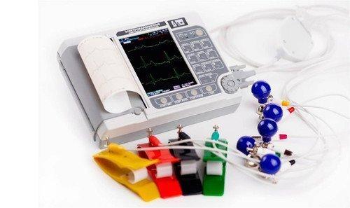 """ЭК12Т-01-""""Р-Д"""" электрокардиограф 6/12-канальный с экраном 141мм и ПО обработки для ПК"""