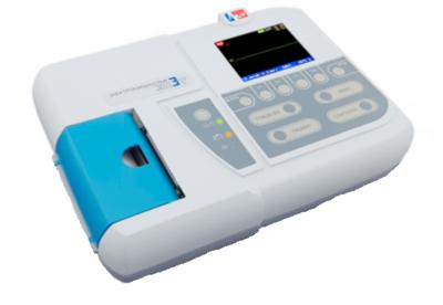 Электрокардиограф ЭК3Т-01-Р-Д/2 цв. экран, б.80мм, полная посиндр. инт.