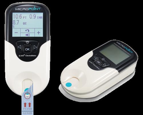 Экспресс-коагулометр для оценки показателей Протромбинового Времени (PT) и МНО (INR), Micropoint Bioscience Inc.