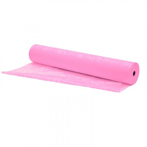 EL-P27R Простыня в рулоне 70х200 см розовые/100 штук