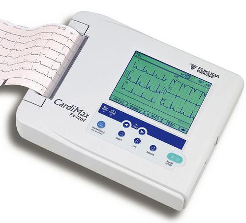 Fukuda CARDIMAX FX-7202 6-ти канальный электрокардиограф (ЭКГ)
