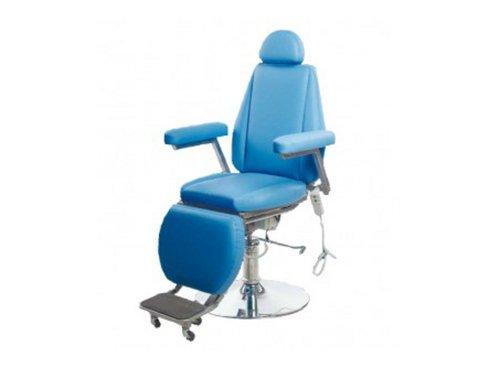 Кресло пациента оториноларингологическое  с гидравлическим подъемником, Элема-Н КПО1Д  с дополнительным сидением для детей (детским вкладышем)
