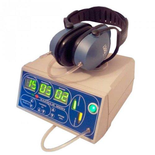 Массажер барабанной перепонки уха с помощью попеременного воздействия давления и вакуума Элема-Н МБП1